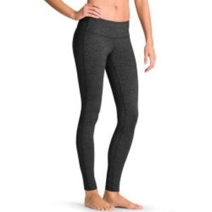 Athleta SZ S grey Odyssey Chaturanga full legging